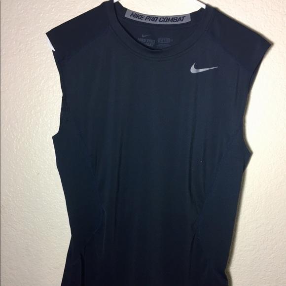 4bd976433 Nike Shirts | Pro Combat Sleeveless Mens | Poshmark